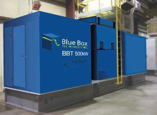Blue Box Technology's BBT 500 KW Gas Turbine