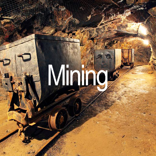 Mining, a market that will benefit from Blue Box Technology's Solutions
