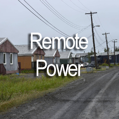 Remote Power, a market that will benefit from Blue Box Technology's Solutions